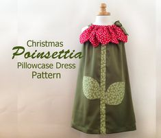 Sunny Flower Pillowcase Dress  Girl Christmas by RubyJeansCloset, $7.95