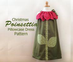 Sunny Flower Pillowcase Dress  Girl Christmas por RubyJeansCloset