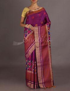Sajeeda Bel Of Colorful Flowers #ChikankariSaree