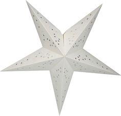 Adventsstjärna i papper, Glittra 45 cm, lila, 3502289