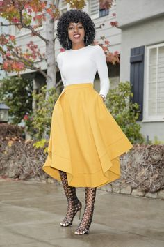 Midi Skirt Outfit, Skirt Outfits, Dress Skirt, Modest Outfits, Modest Clothing, Style Pantry, W Dresses, Spring Summer Fashion, Style Me