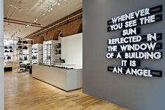 Interior/Exhibition/VMD :: Dior Homme Pop-up store, New York
