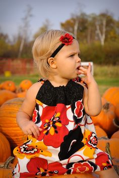 Fall Pillowcase Dress Girls Pillowcase Dress by Snugglebugkidz, $38.00
