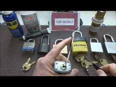 Improve Your Lock Picking Skills (for Beginners) + link in the description for a comprehensive .pdf about lockpicking