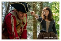 #Outlander first look: Claire vs the Redcoats! @Outlander_Starz  Outlander, STARZ, Caitriona Balfe and Outlander
