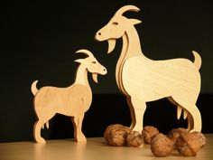 Diy Wood Projects, Woodworking Projects, Wood Animal, Wood Scraps, Scroll Saw, Animal Sculptures, Stuffed Animal Patterns, Woodcarving, Craft Items