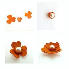 Flower Earings DIY