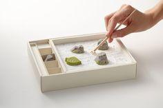 Edible Japanese Zen Rock Garden — The Dieline - Branding & Packaging Design