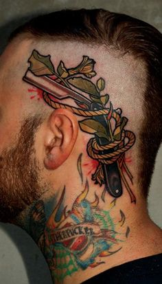 Razor Tattoo by Marco Schmidgunst