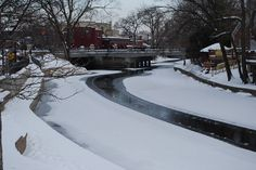 Naperville winter | Naperville Riverwalk in Winter 003 | Flickr - Photo Sharing!