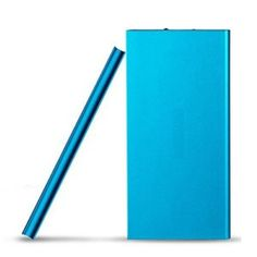 Hornet Electronics TM, 10000mah Universal Ultra Compact Portable Battery External Battery Pack Portable Charger Power Bank for Smart Phone (Blue)