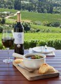 French onion soup at Constantia Glen