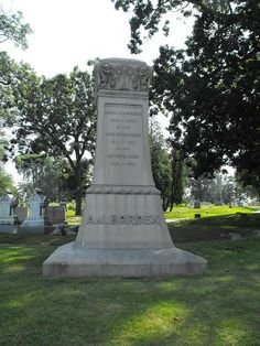 Family monument of Lizzie Borden