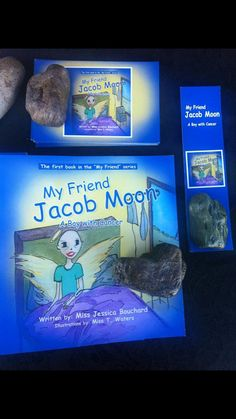 My Friend Jacob Moon~ A Boy with Cancer on Etsy, $18.64 My Friend, Friends, Home Based Business, Cancer, Moon, Fine Art, Writing, Etsy, Jewelry