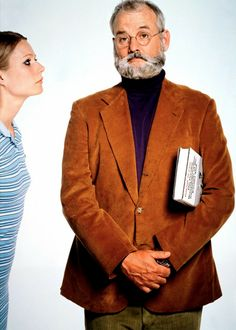 The Royal Tenenbaums | Gwyneth Paltrow (queen of bitchface) & Bill Murray   I think this movie is a visual masterpiece and so subtely clever. At times, it induces feelings of ambiguity (yes!). Wes Anderson is a genius.
