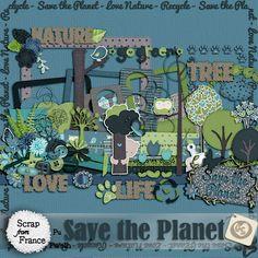 Kit Save the Planet de GreiScrap's