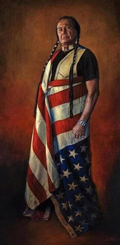 Russell Means the upside down flag in our country means that the nation is in distress