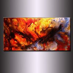 Abstract Painting Original Abstract painting por newwaveartgallery