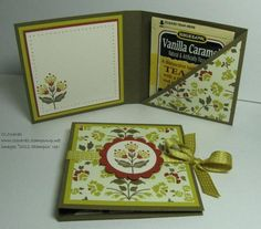 Comfort Cafe Teabag Card by CLOcards - Cards and Paper Crafts at Splitcoaststampers