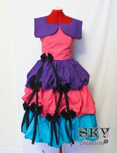 Carnival Dress by skycreation on Etsy, $85.00