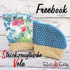 Freebook: Strickzeugtasche Vela | Rund und Eckig Pot Holders, Lunch Box, Sewing, Round Round, Tutorials, Breien, Bags, Dressmaking, Hot Pads