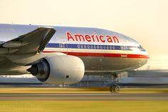American Airlines Boeing 777.