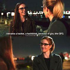 "#Arrow 5x11 ""Second Chances"" - Felicity and Alena"
