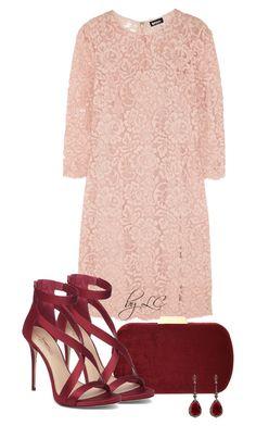 """DKNY Lace mini dress"" by explorer-14541556185 ❤ liked on Polyvore featuring DKNY, Natasha and Annoushka"
