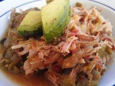 Crockpot Pork Green Chile | PaleOMG - Paleo Recipe