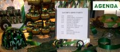 Colby wants to do an army party for his next birthday. Lots of good ideas here. Camouflage Birthday Party, Army Birthday Parties, Army's Birthday, Camo Party, Nerf Party, Birthday Party Themes, Birthday Ideas, Birthday Stuff, Birthday Cakes