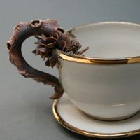 bottom feeder tea cup