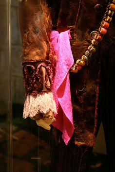 Details of the Mad Hatter's Costume.