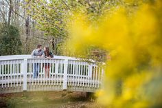 Athens, GA engagement session at the Botanical Gardens | Claire Diana Photography