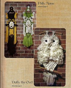 Whispers of the Frost by Brandy  Macrame by grammysyarngarden, $9.00