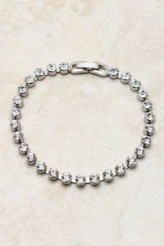 Silver Crystals Bracelet#Repin By:Pinterest++ for iPad#