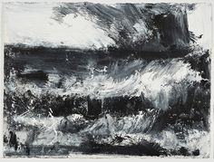 (John Virtue paintings, plastic arts, fine arts,visual arts)