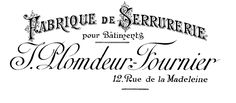 Antique Clip Art - Gorgeous French Typography - Printable - The Graphics Fairy