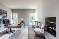 Classic plain study room interior design