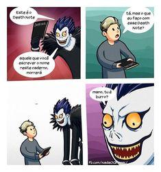 burrice l deathnote jumento meme anime otaku donkey ok idiot Wtf Funny, Funny Cute, Funny Memes, Yandere Manga, Manga Anime, Anime Naruto, Manhwa, Nate River, Otaku Meme