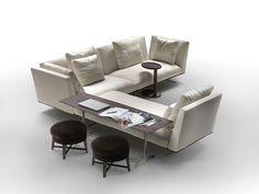 Flexform Ecksofas Sofakombination Evergreen   Designbest