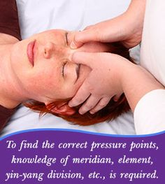 Finding pressure points on the body