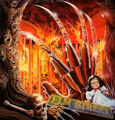 Freddy Krueger - A Nightmare on Elm Street Comic Art