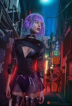 Cyber Roxanne by VladislavPANtic