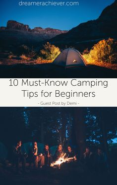 Do you want to know the must-know basics of camping? This post is about camping tips for beginners by Demi, a professional camper and widl life enthusiast! Camping Tips, The Dreamers, Travel Inspiration, Posts, Blog, Life, Camping Tricks, Messages, Blogging