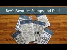 Here's another sneak peek at Technique Tuesday's Winter 2014 product release. Bev's showing some of her favorite new products. They include stamp sets designed by Teri Anderson, Ali Edwards, Lori Vliegen and herself.
