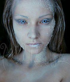 6 Chilly Winter Makeup Looks halloween makeup looks Ice Makeup, Ice Queen Makeup, Makeup Art, Makeup Inspo, Makeup Ideas, Helloween Make Up, Hallowen Ideas, Looks Halloween, Halloween 2016