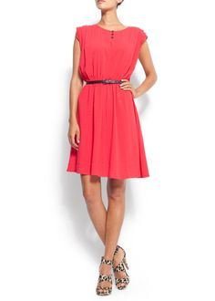 """This dress is to die for! Especially since Mango has called this colour """"passion"""""""