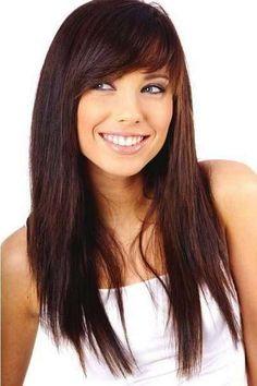 Cortes de pelo para cara ovalada: fotos de los looks - Rostro ovalado melena larga lisa