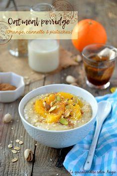 Porridge d'avoine {Orange, cannelle