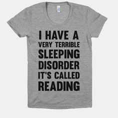I Have A Very Terrible Sleeping... | T-Shirts, Tank Tops, Sweatshirts and Hoodies | HUMAN  Athletic Athletic Grey